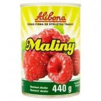 Alibona kompot malinový 440g