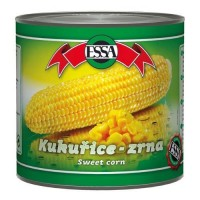 Essa kukuřice zrna vakuovaná 340g