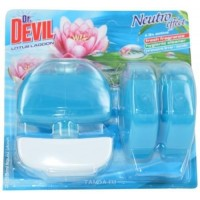 Dr.Devil WC závěs Lotus lagoon 3x55ml