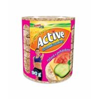 Active chlebíčky rýžové s pohankou 90g