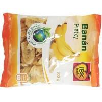 IBK banánové plátky 100g