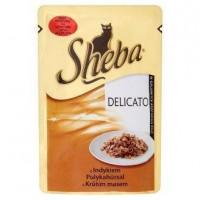 Sheba kapsíčka pro kočky Delicato krůtí v že...