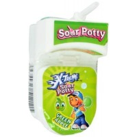 X-Treme bonbón   hračka Sour Potty WC 19g
