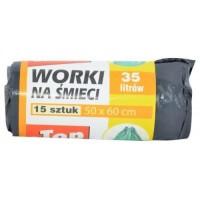 TOP Worki Pytle na odpad 35L 15ks