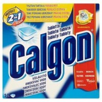 Calgon změkčovač vody 2v1 do pračky 12ks
