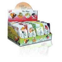Deep fresh Vlhčené ubrousky ovoce 15ks