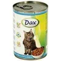 Dax konzerva pro kočky ryba 415g