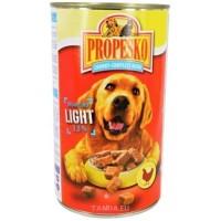 Propesko konzerva kousky light pro psy 1,24kg