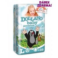 Dollano Baby Premium plenky l 56ks