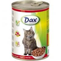 Dax konzerva pro kočky hovězí 415g